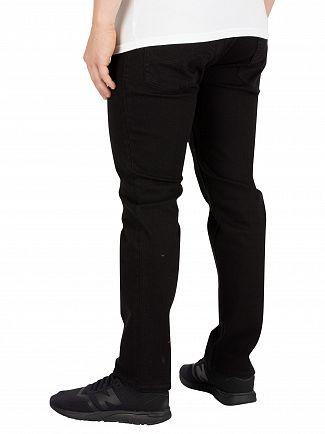 Jack & Jones Black Denim Tim Original Slim 068 Jeans