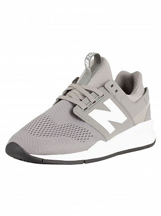 New Balance Grey 247 Trainers
