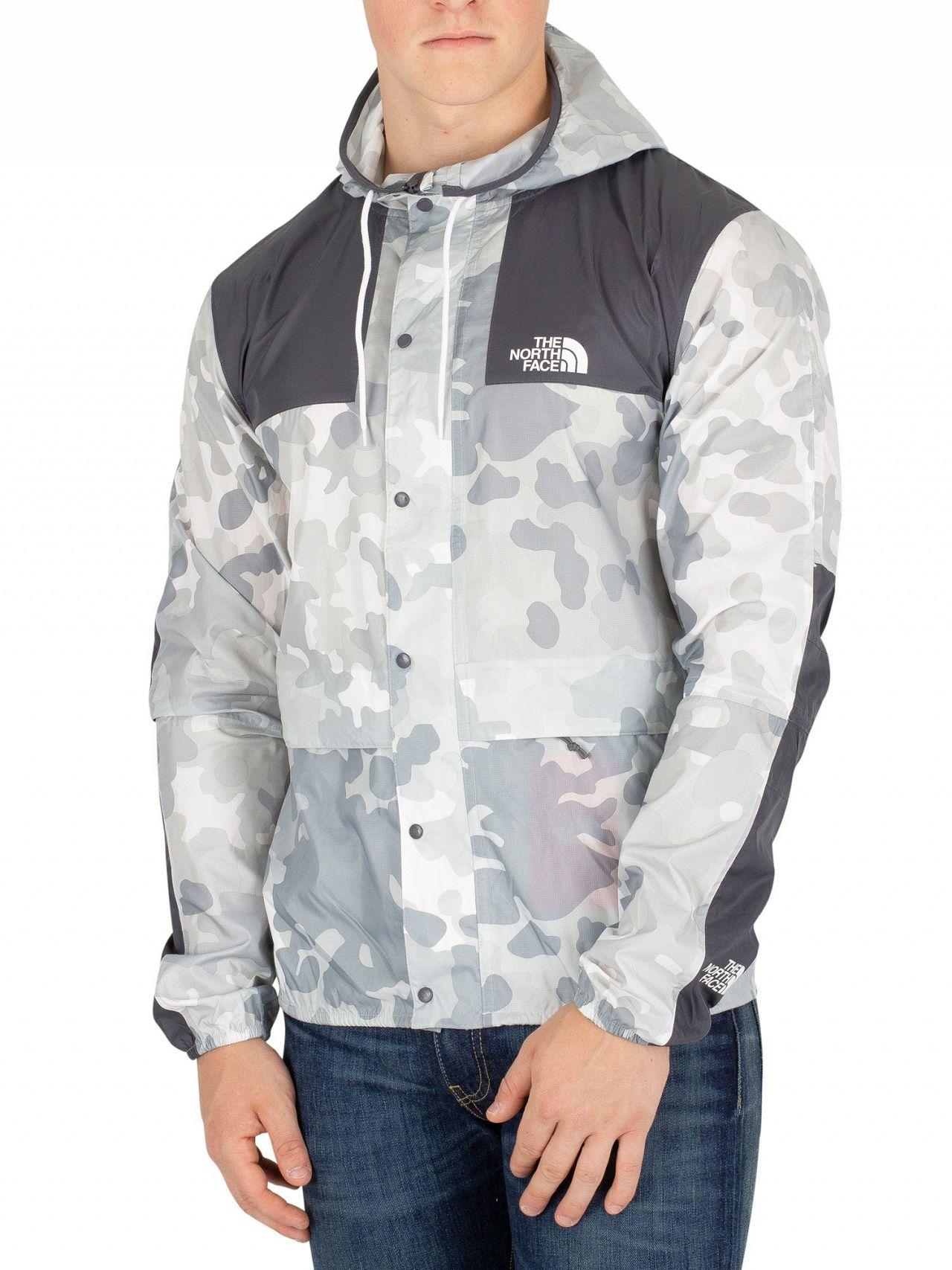 82893e77a The North Face Grey Camo 1985 Mountain Jacket