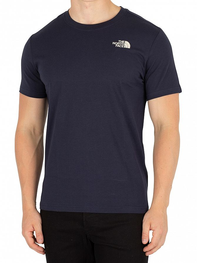 The North Face Urban Navy Red Box T-Shirt
