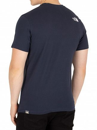 The North Face Navy Simple Dome T-Shirt
