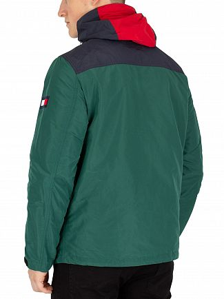 Tommy Hilfiger Forest Biome Colour Block Jacket