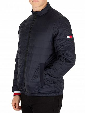 Tommy Hilfiger Sky Captain Reversible Nylon Down Jacket