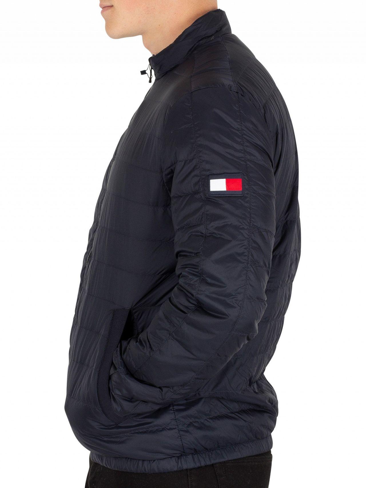 66414c0ac74 Tommy Hilfiger Sky Captain Reversible Nylon Down Jacket