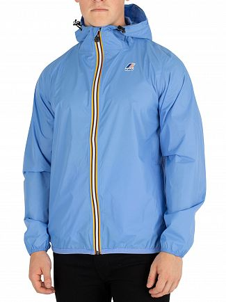 K-Way Azure Blue Le Vrai 3.0 Claude Jacket