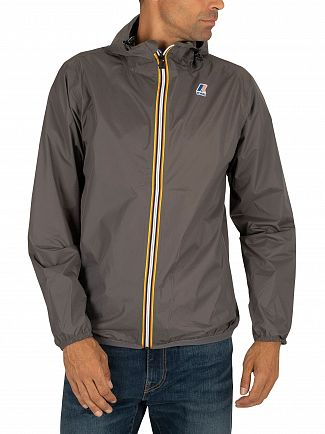 K-Way Grey Smoke Le Vrai 3.0 Claude Jacket