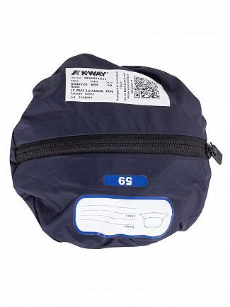 K-Way Blue Depht Le Vrai 3.0 Pascal Tape Hat