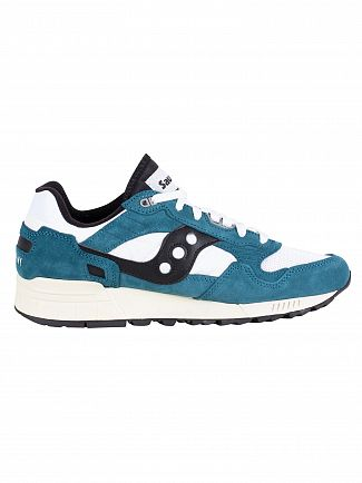 Saucony Green/White Shadow 5000 Vintage Trainers