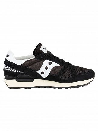 Saucony Black/White Shadow Original Vintage Trainers