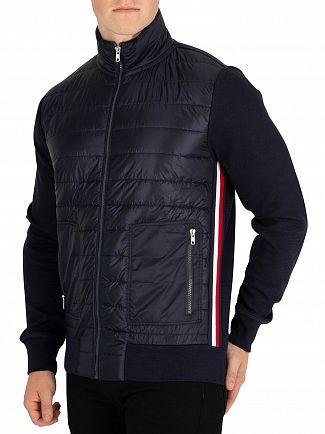 Tommy Hilfiger Sky Captain Mixed Media Jacket