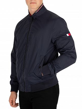 Tommy Hilfiger Sky Captain Reversible Bomber Jacket