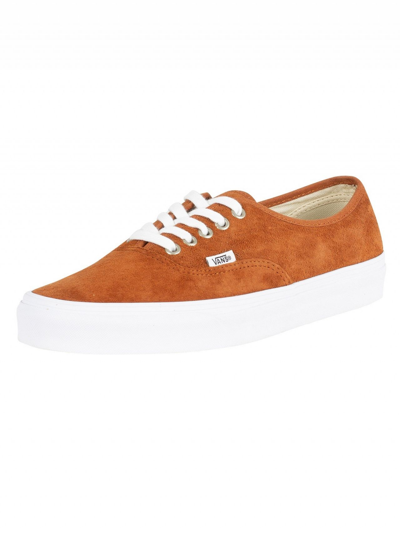4788bd51897b Vans Brown Authentic Suede Leather Trainers