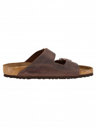 Birkenstock Brown Arizona BS Leather Sandal