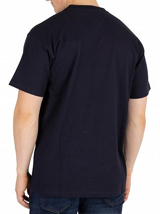 Carhartt WIP Dark Navy American Script T-Shirt