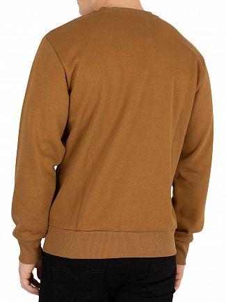 Carhartt WIP Hamilton Brown Script Embroidery Sweatshirt