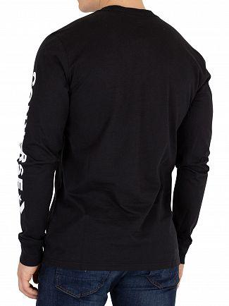 Converse Black Longsleeved T-Shirt