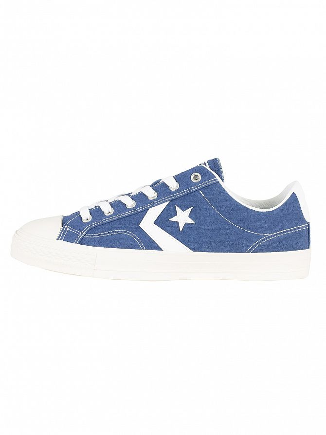 95aca6305f6 Converse Men s Star Player Ox Canvas Trainers