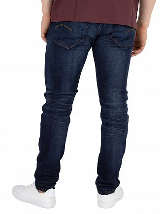 G-Star Ultra Dark Aged 3301 Slim Jeans
