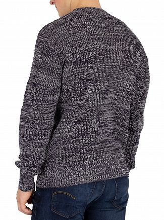 G-Star Dark Saru Blue/Ivory Jayvi Knit