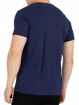 Hackett London Navy Mr Classic T-Shirt