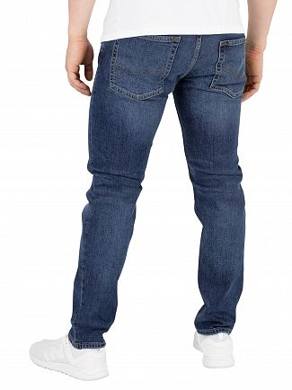 Jack & Jones Blue Denim Tim Original 726 Slim Jeans