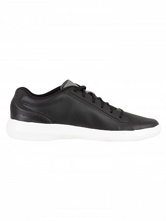 Lacoste Black/Dark Grey Avantor 318 3 SPM Trainers