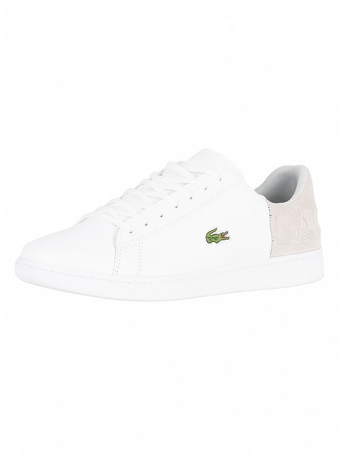 4608f1d0a43f2 Details about Lacoste Men s Carnaby Evo 318 2 QSP SPM Leather Trainers