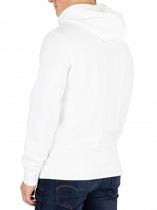 Levi's White Modern Pullover Hoodie