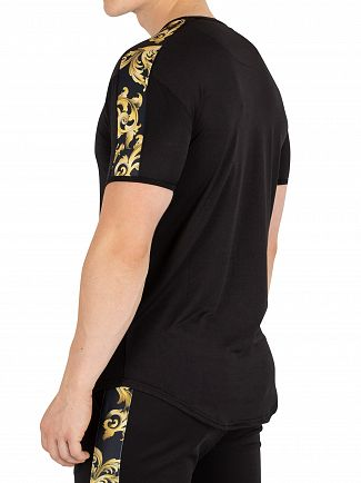 Sik Silk Black Gym T-Shirt