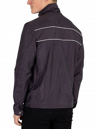 Sik Silk Navy Surge Windbreaker Jacket