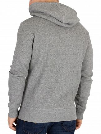 Superdry Phoenix Grey Grit Vintage Authentic Duo Zip Hoodie