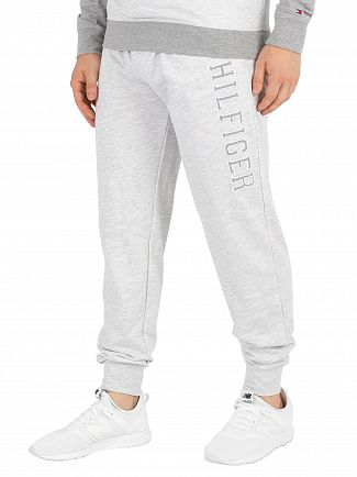 Tommy Hilfiger White Heather Graphic Joggers