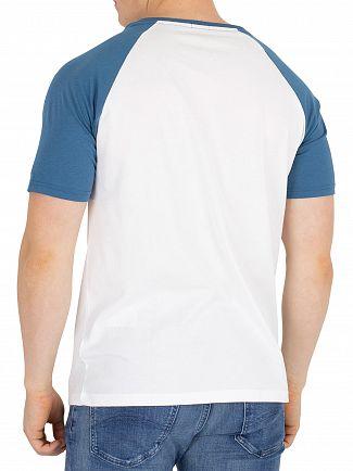 Tommy Hilfiger Blue Ashes Logo Raglan T-Shirt