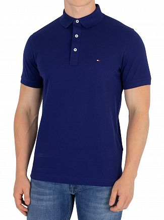 Tommy Hilfiger Blue Depths Slim Polo Shirt