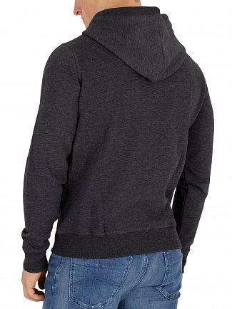 Tommy Jeans Black Essential Zip Hoodie