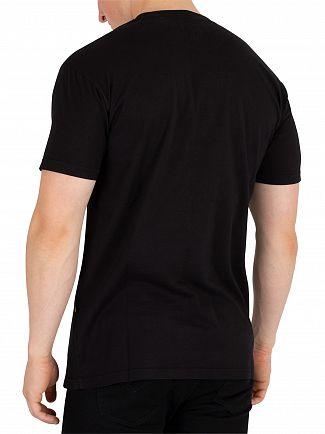 Vivienne Westwood Black Boxy Arm & Cutlass Print T-Shirt