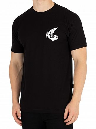 Vivienne Westwood Black Boxy Small Arm & Cutlass T-Shirt
