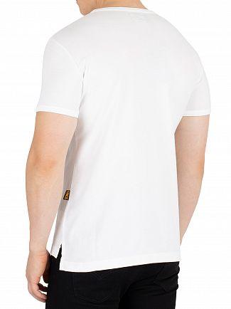 Vivienne Westwood White Classic Heart World Print T-Shirt