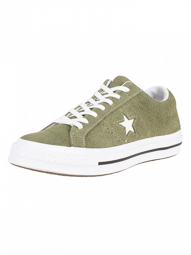 Converse Field Supplus/White One Star Ox Suede Trainers