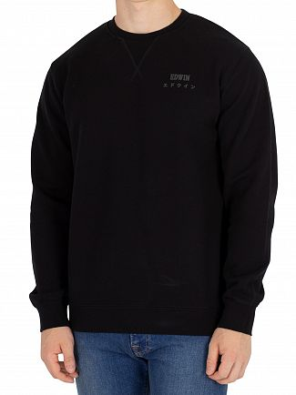 Edwin Black Base Sweatshirt