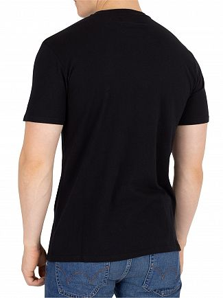 Edwin Black Garment Washed Japan T-Shirt
