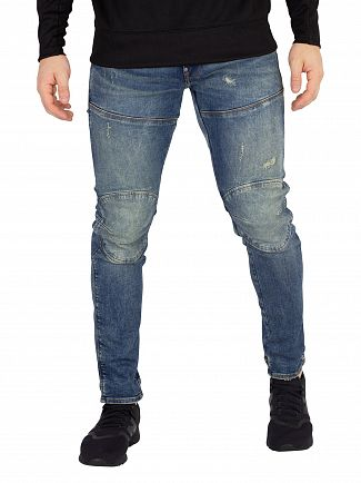 G-Star Medium Aged Antic Destroy 5620 3D Skinny Jeans