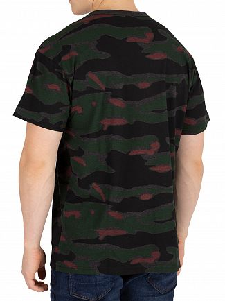G-Star Vermont Green Relaxed Camo T-Shirt