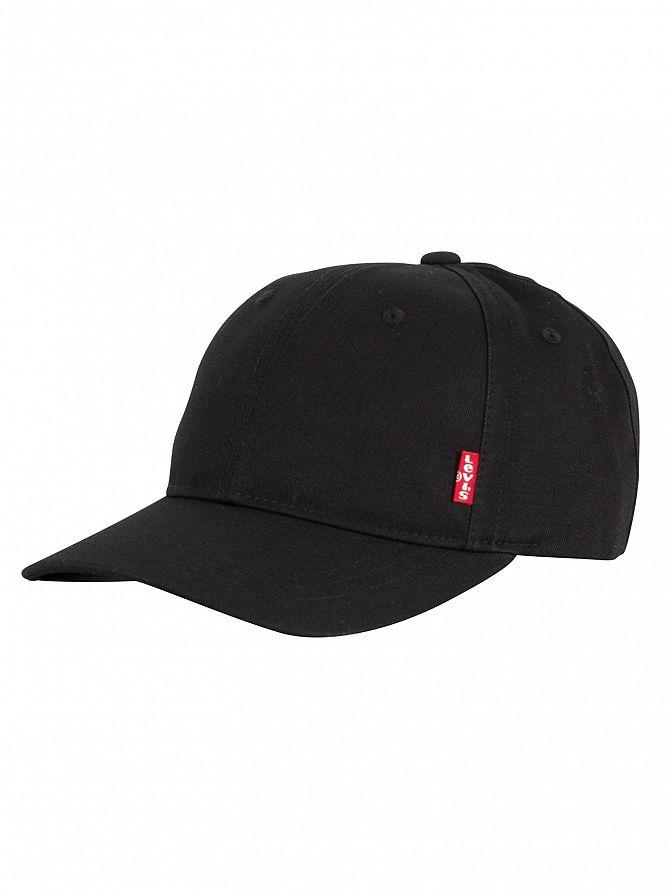 Levi's Black Red Tab Baseball Cap
