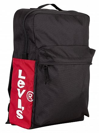 Levi's Black Side Tab L Pack Backpack