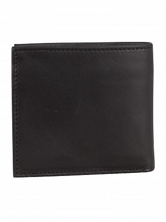 Levi's Black Vintage Two Fold Bifold Wallet