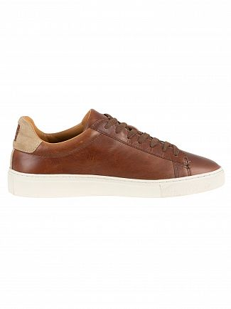Gant Cognac Major Leather Trainers