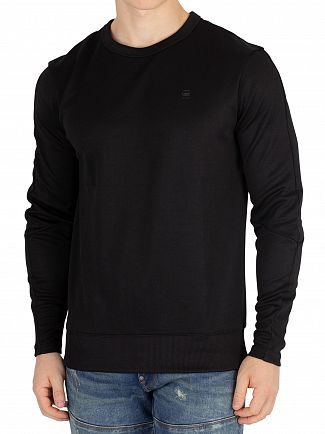 G-Star Black Motac Slim Sweatshirt