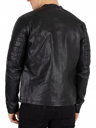 Jack & Jones Black Racer Jacket