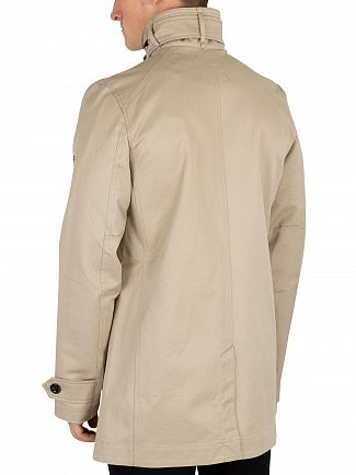 G-Star Khaki Garber Trench Coat